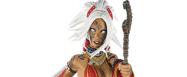 Dynamite adds PATHFINDER Seoni statues to its collectible line