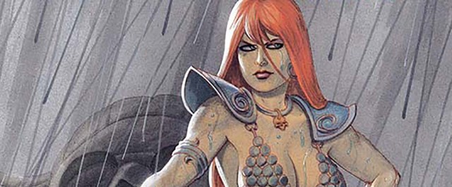 EXCLUSIVE PREVIEW: RED SONJA VOL. 5 #7 welcomes artist Bob Q