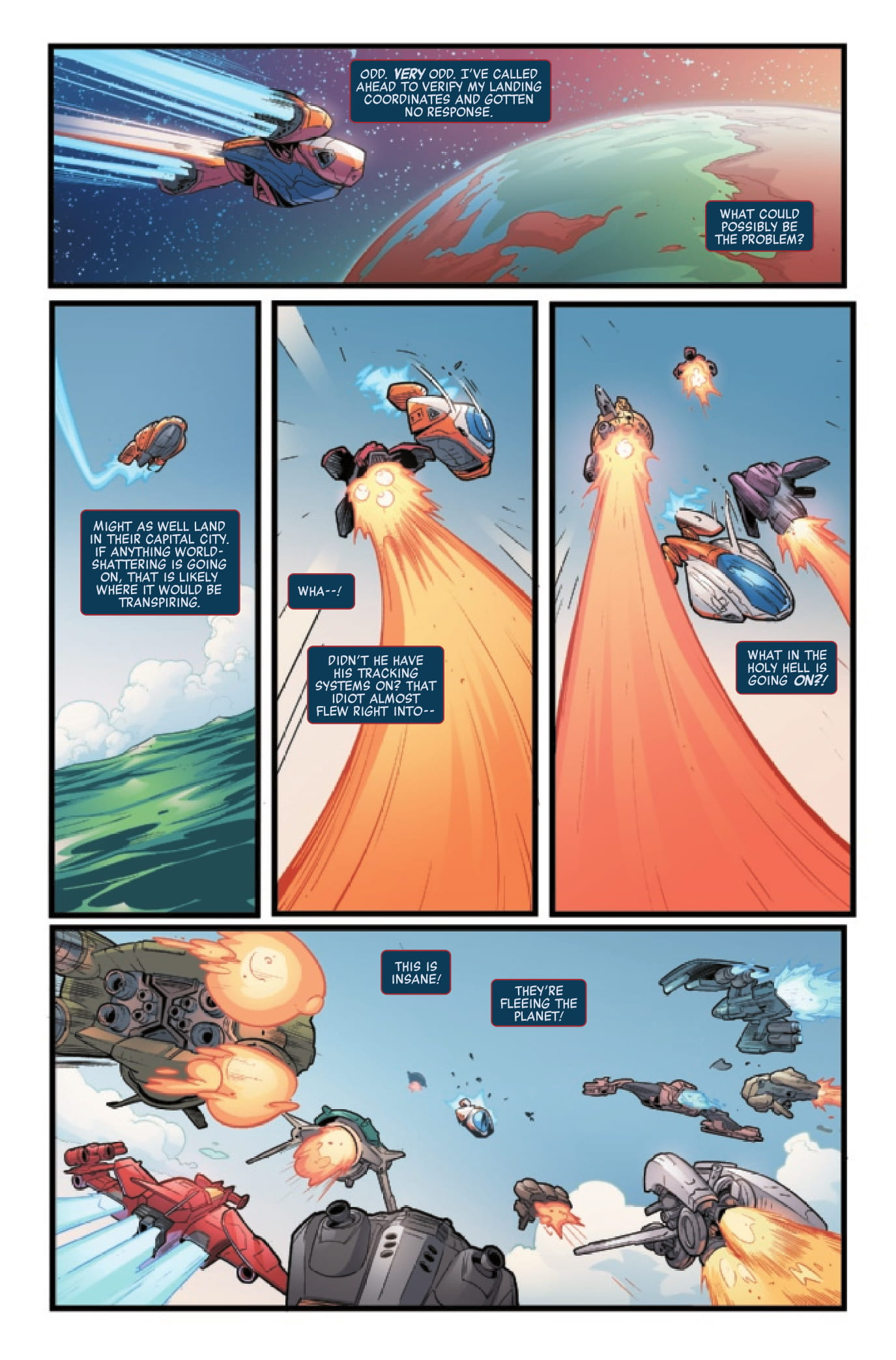 Silver Surfer: The Prodigal Sun #1 preview