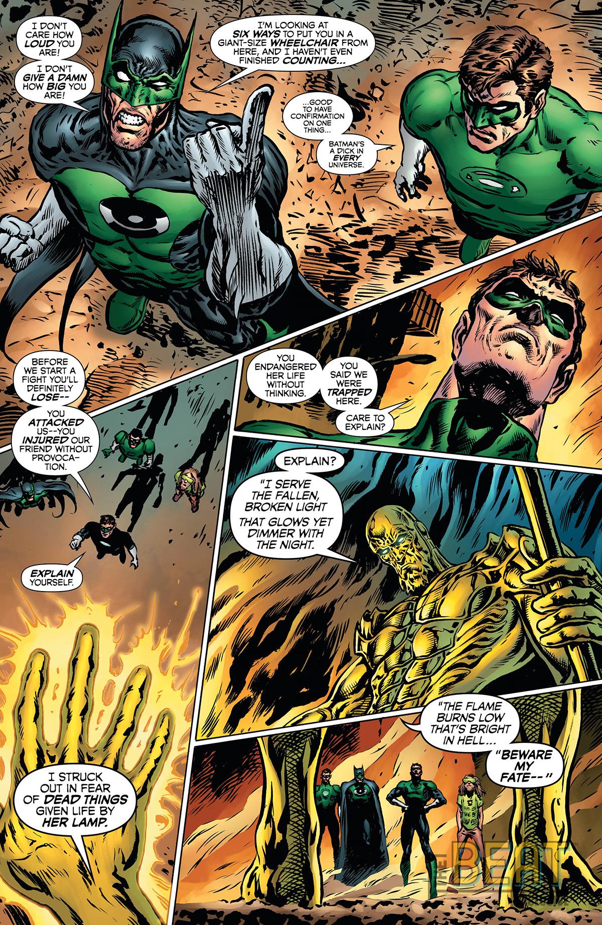 The Green Lantern #11 preview