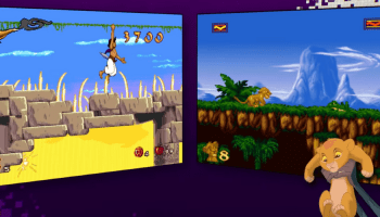 aladdin the lion king video game