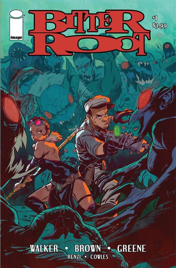 chuck brown comics the bitter root