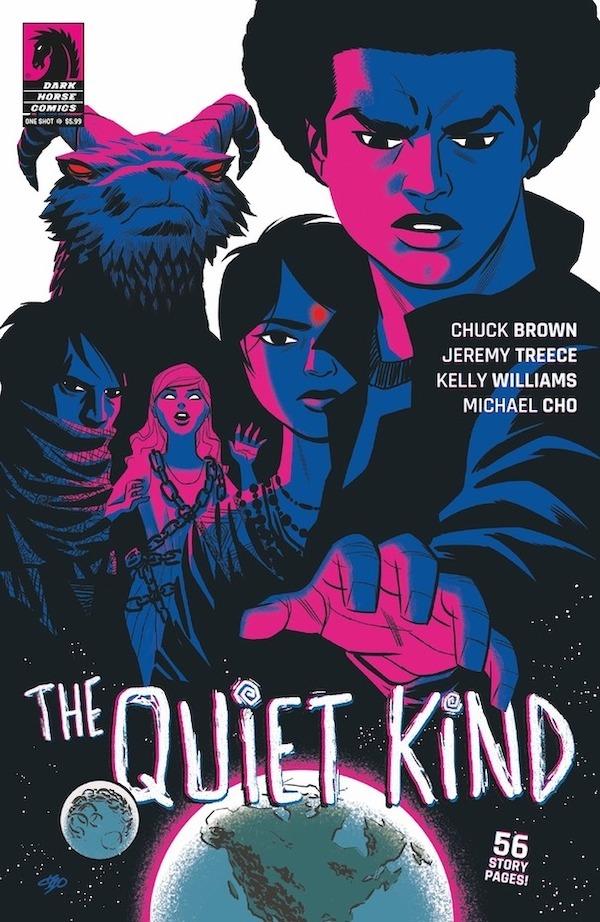 chuck brown comics the quiet kind