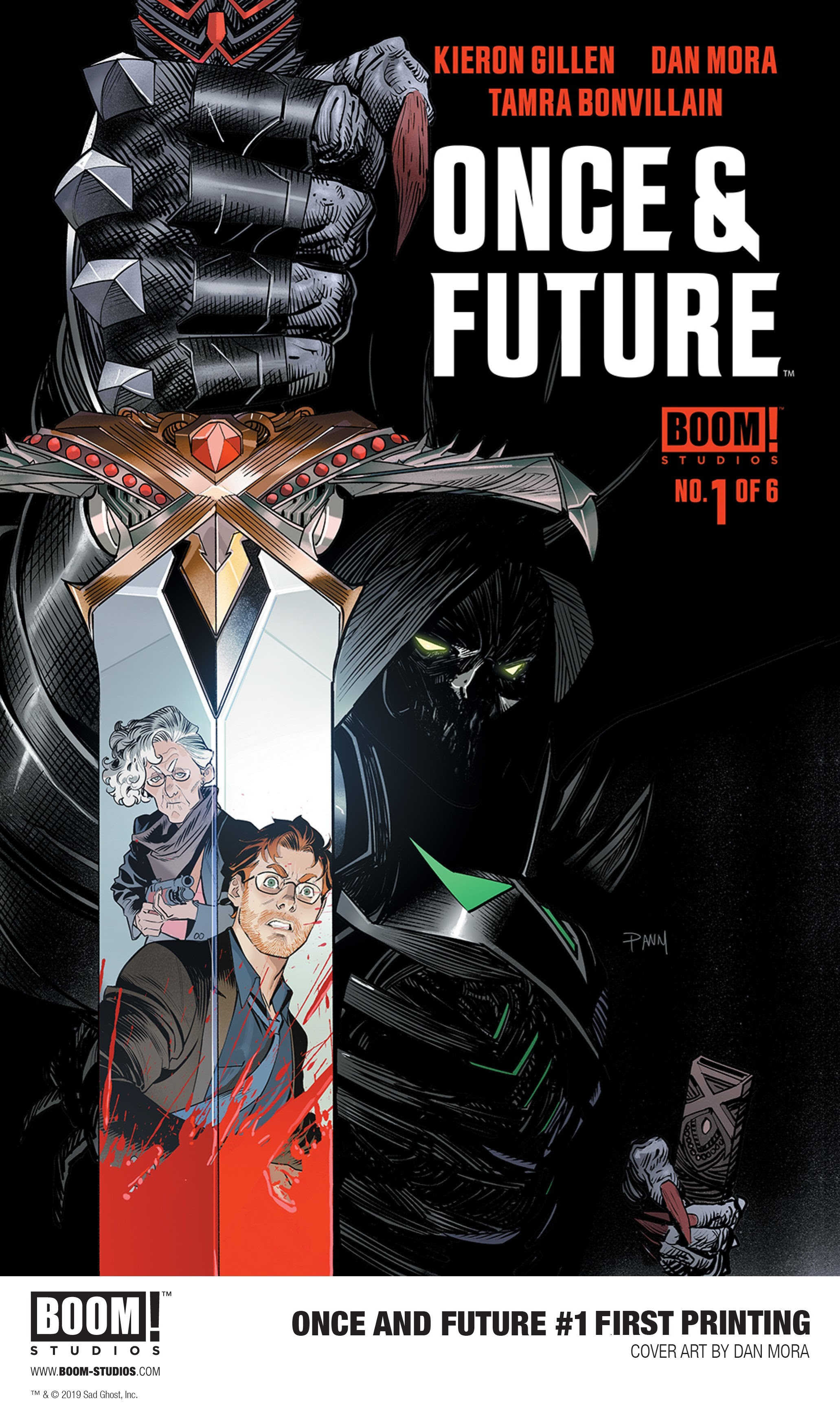 Once & Future #1 first printing