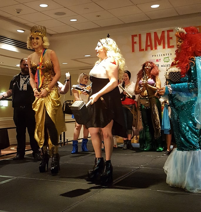 The Flamecon 2019 first place winner in the Cosplay Contest.