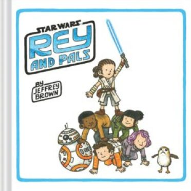 Rey and Pals by Jeffrey Brown