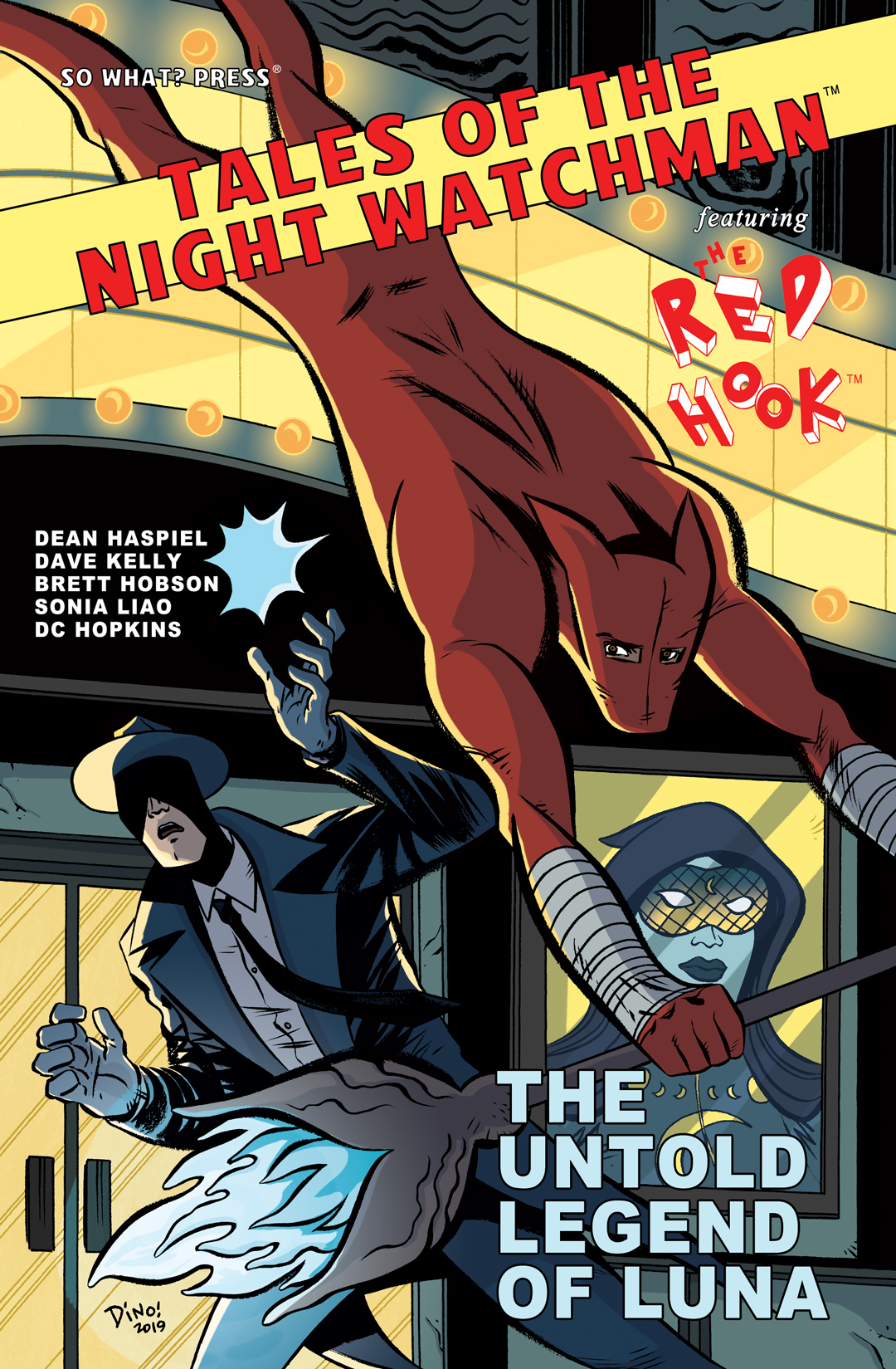 Tales of the Night Watchman / The Red Hook: The Untold Legend of Luna #1
