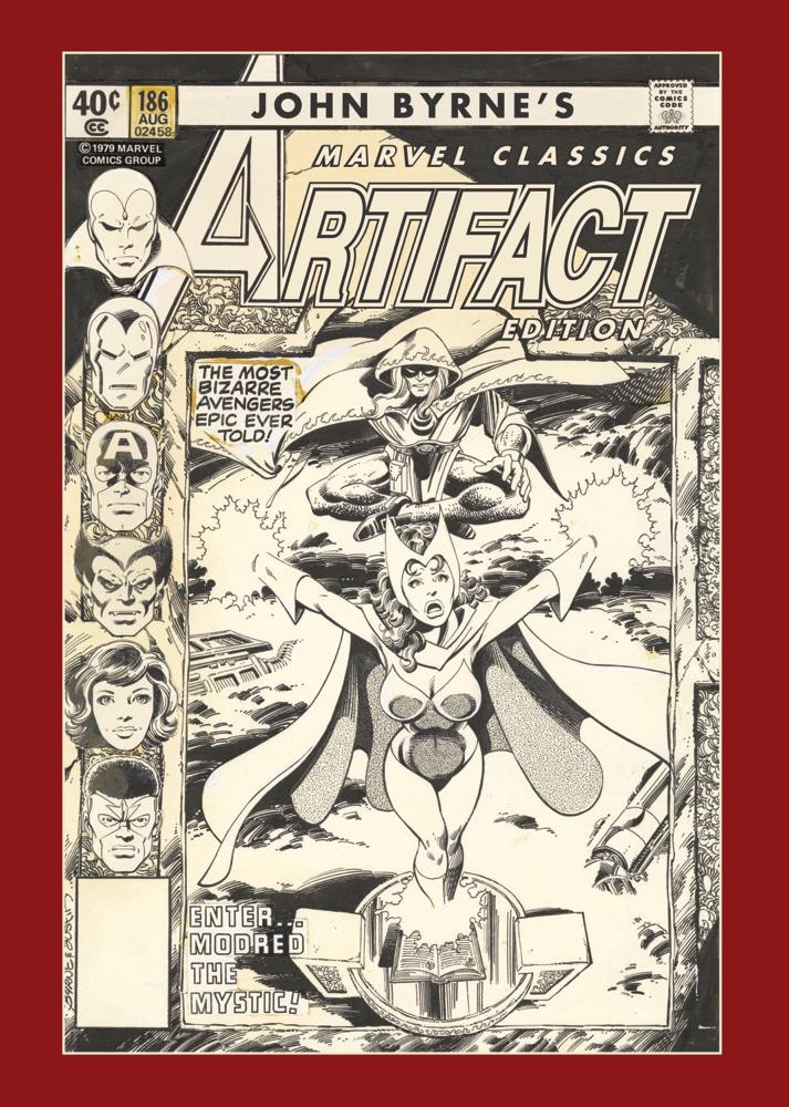 Regular cover of John Byrne's Marvel Classics Artifact Edition
