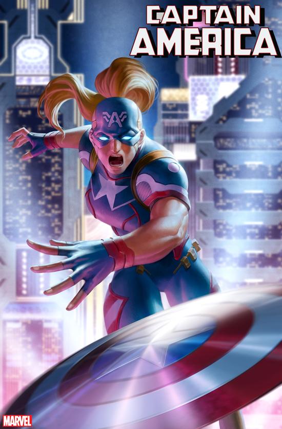 Captain America #16 2099 variant
