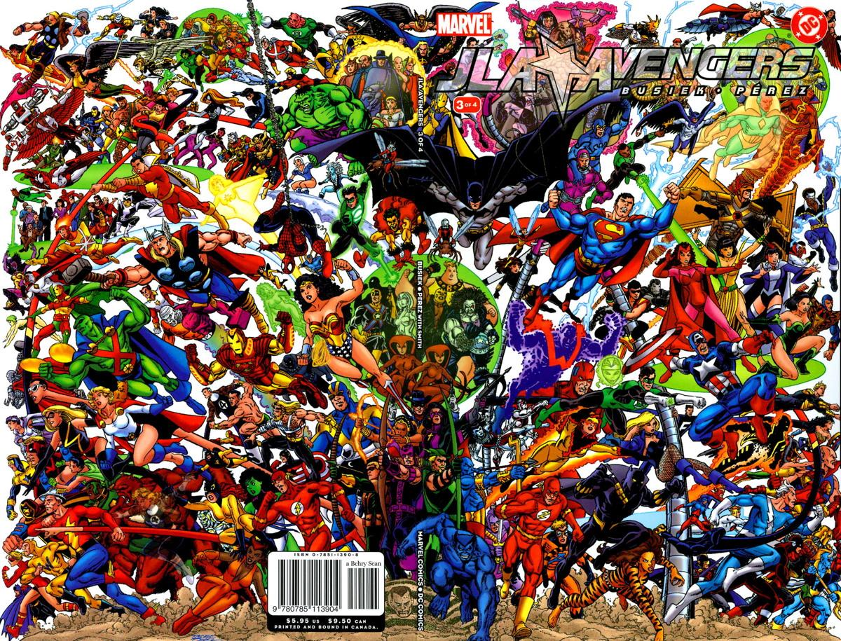 george perez jla-avengers #3