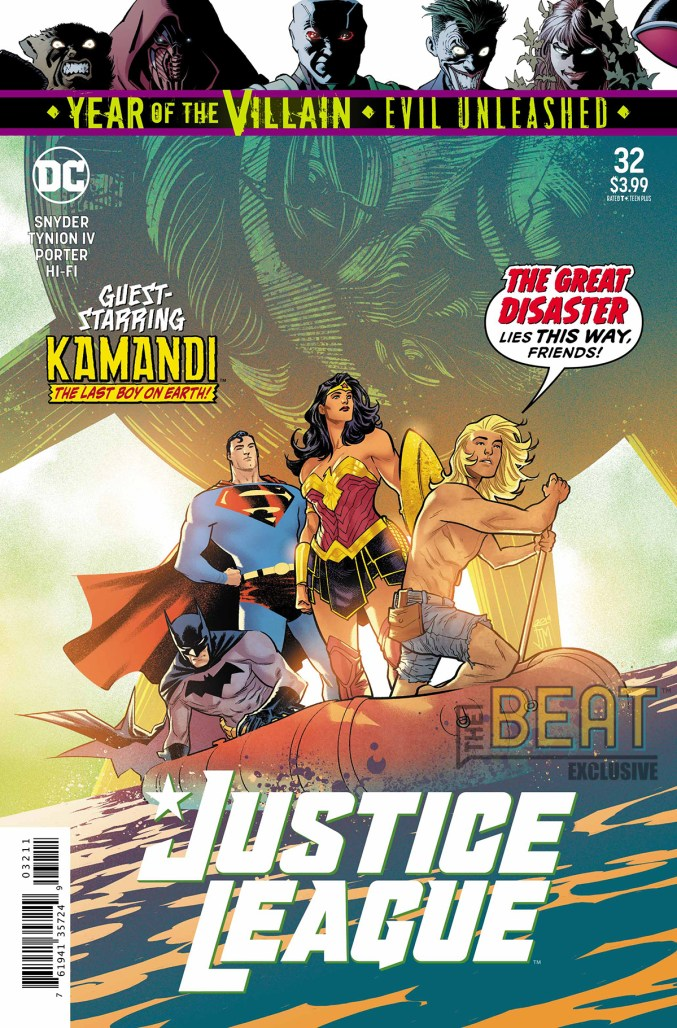 Justice League 32 Preview Cover