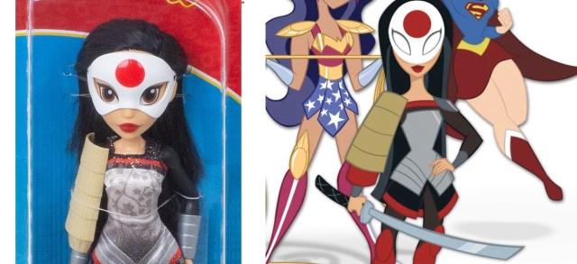 Katana debuts in DC SUPER HERO GIRLS in October