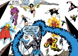 What's up in the 31st century? A Legion of Super-Heroes