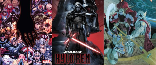 INCOMING, THE RISE OF KYLO REN, and the end of an era for THOR in the Marvel December 2019 Solicitations