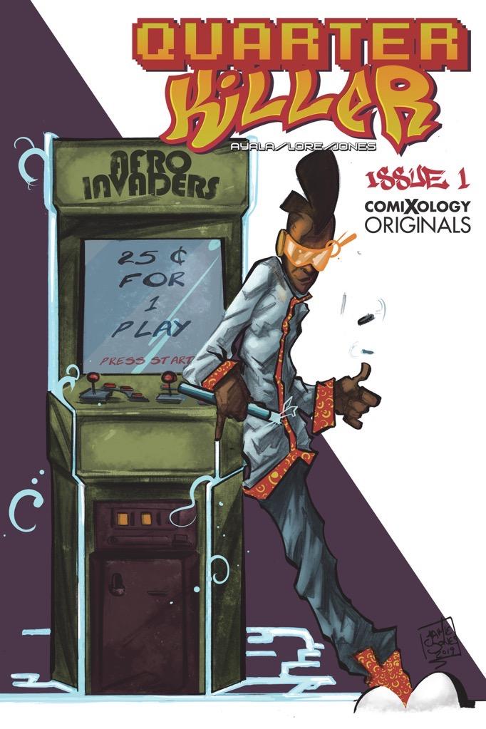 quarter killer comic cover