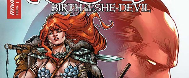 EXCLUSIVE PREVIEW: RED SONJA: BIRTH OF THE SHE-DEVIL #4 closes out the exciting miniseries