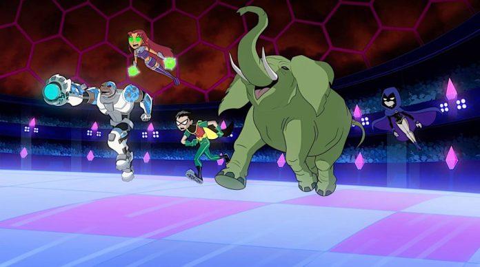 Teen Titans Go! Vs. Teen Titans clip