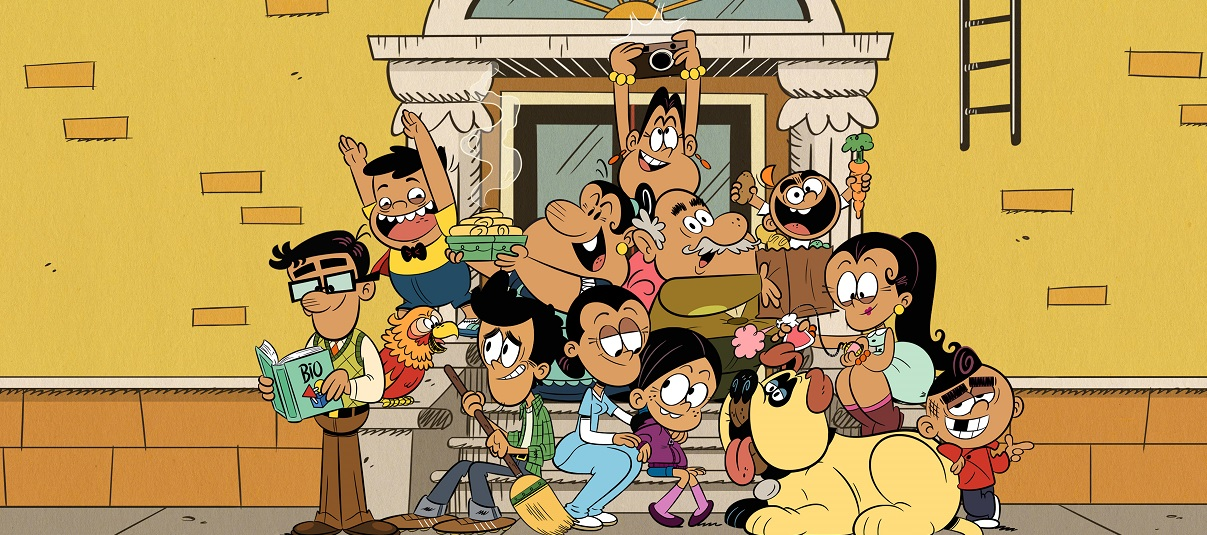 Make room for THE CASAGRANDES cartoon on Nickelodeon
