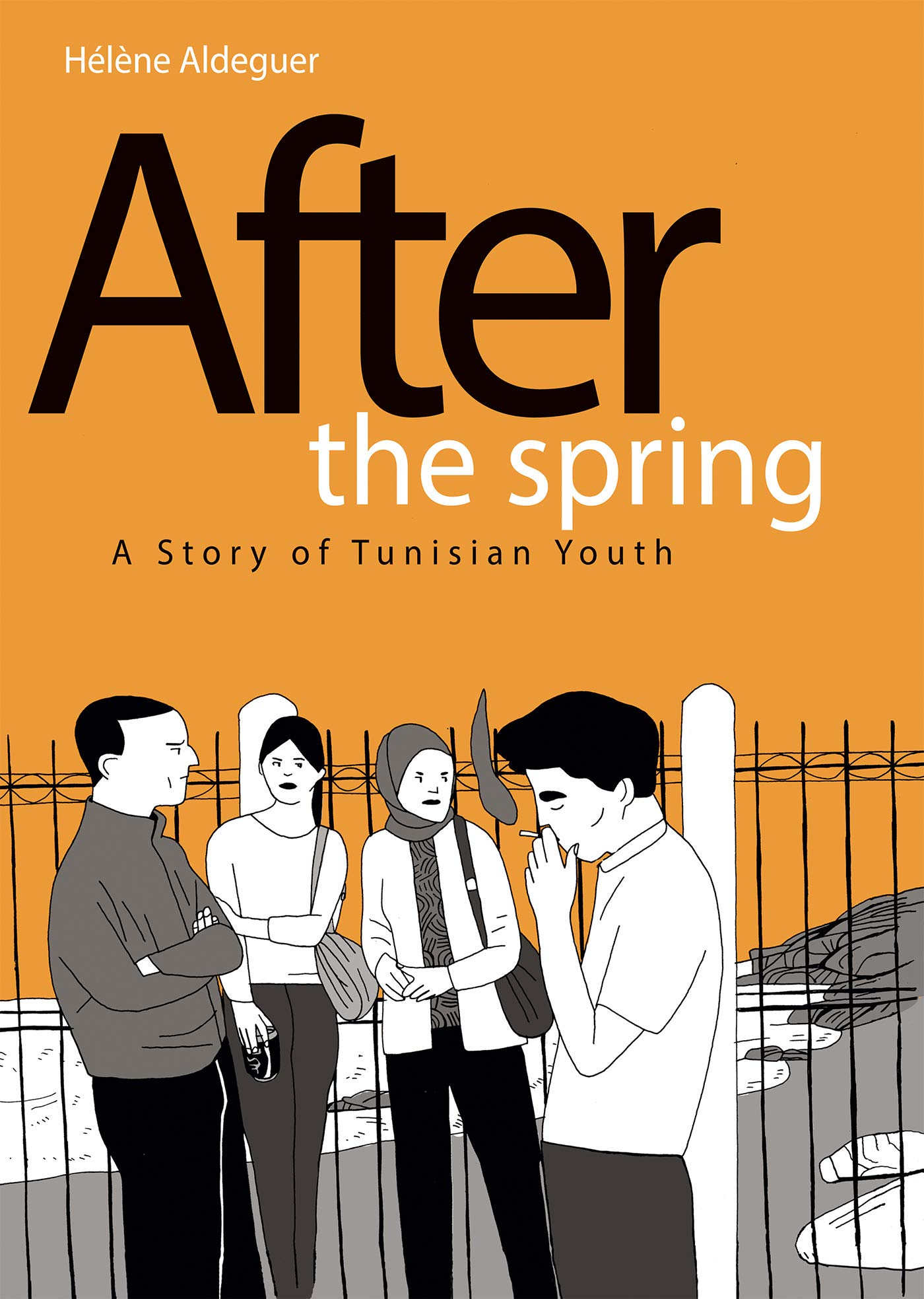 Graphic Novels for Fall 2019: After the Spring: A Story of Tunisian Youth
