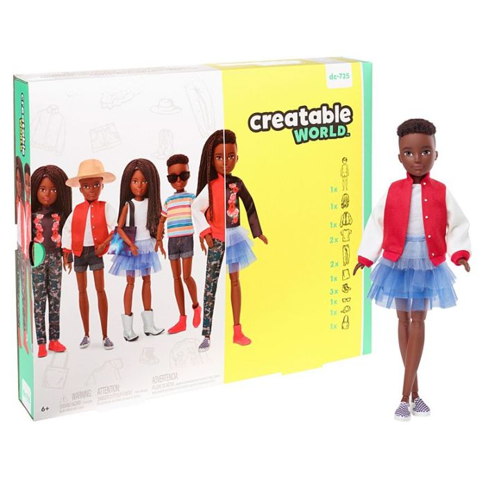 Creatable World Deluxe Character Kit packaging