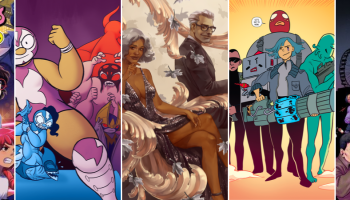Crowdfunding Comics Round-Up 9/20: Michaels Girls, The Legend of La Mariposa: The Demon Gauntlet, Smut Peddler: Silver, Ship Wrecked Vol. 4, 20 Fists