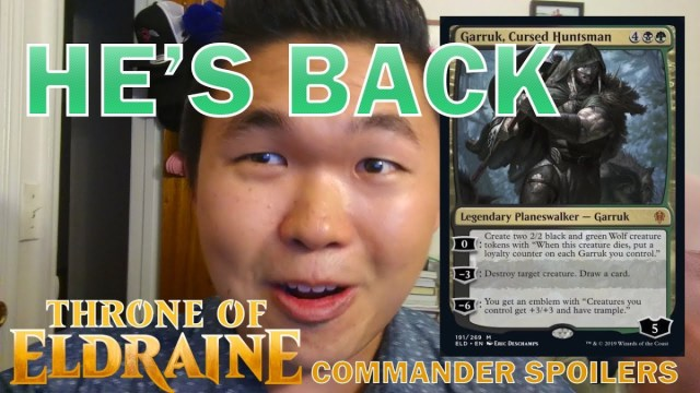 THRONE OF ELDRAINE gives your Magic Commander decks so many great new cards [Spoiler Video]