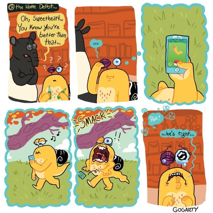 Little Tunny plays Pokemon GO