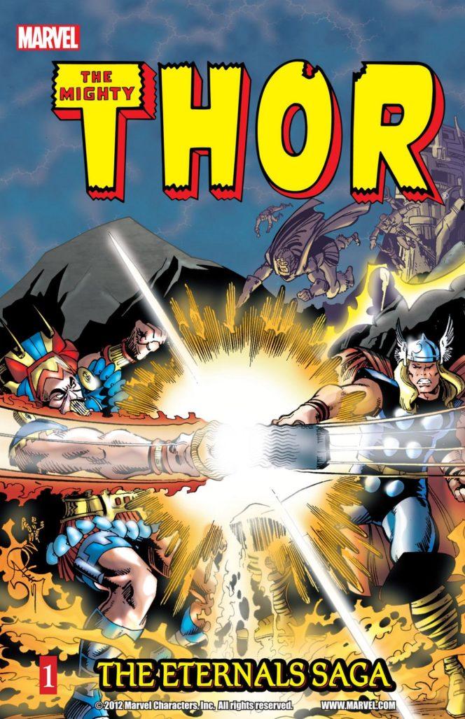 eternals storylines Thor