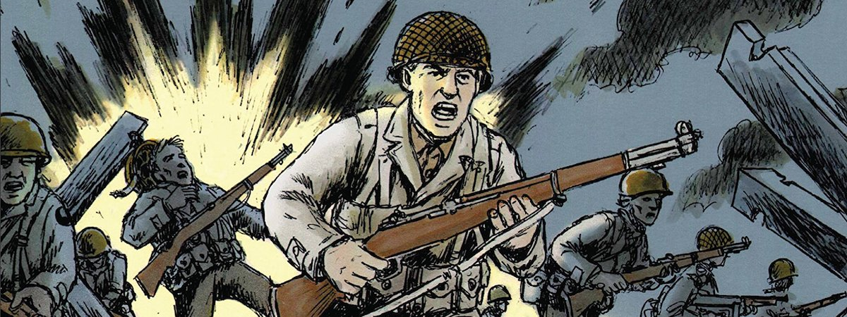 War comics - Normandy by Wayne Vansant