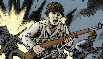 War comics - Normandy by Wayne Vansant