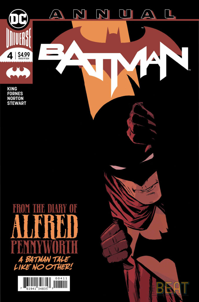 Batman Annual #4 Cover