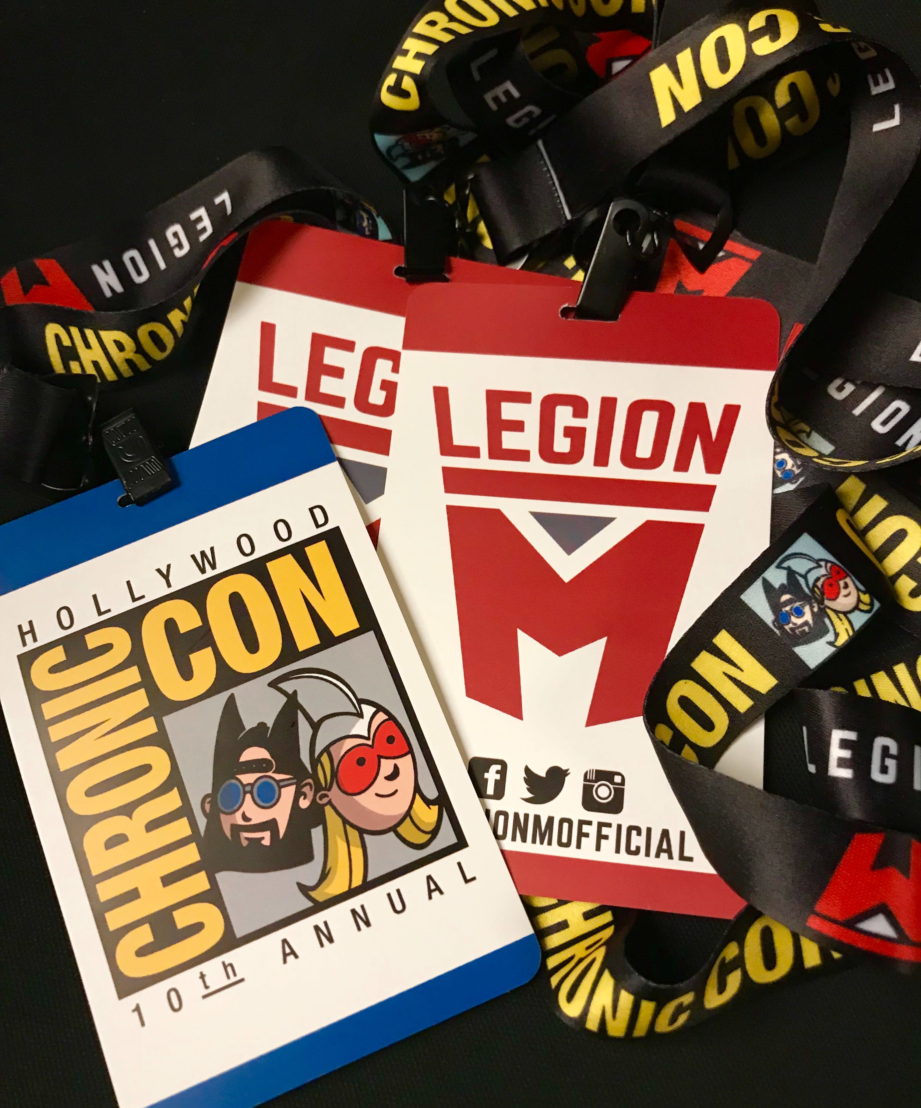 Los Angeles Comic Con Legion M booth