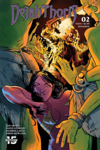 Dynamite January 2020 solicits: Dejah Thoris #2