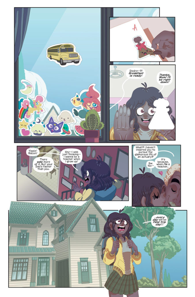 field tripping comic page