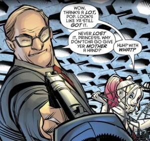 Harley Quinn cartoon