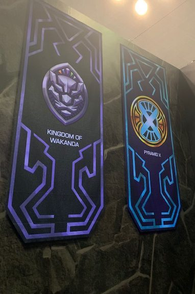 NYCC 2019 House Banners for Marvel Realm of Champions