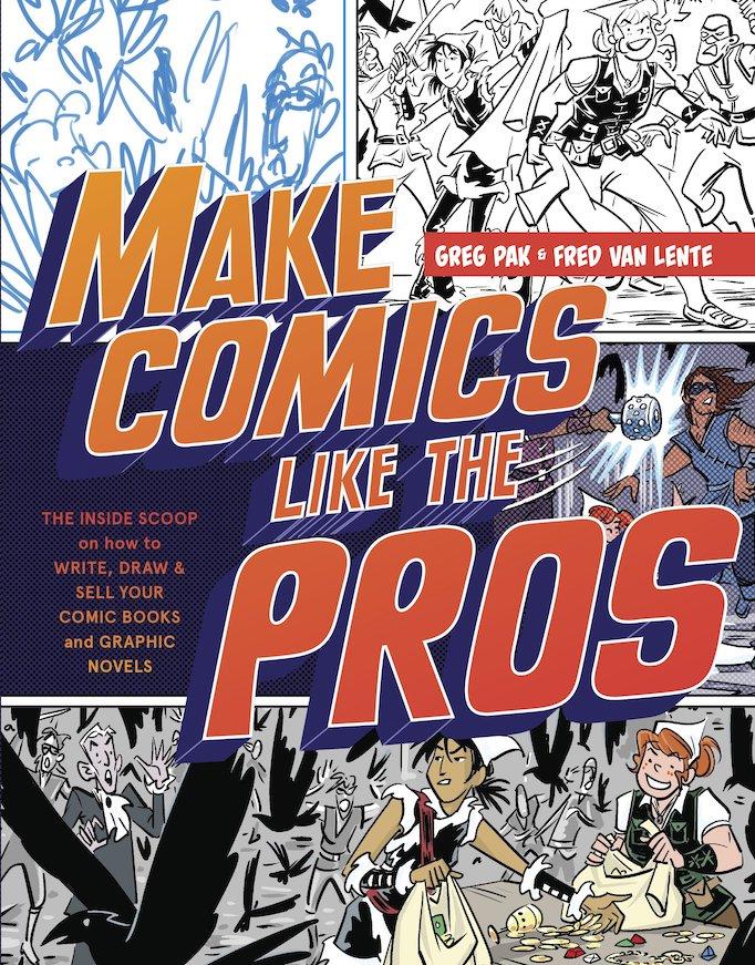 writing comic scripts book