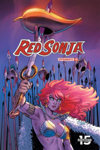 Dynamite January 2020 solicits: Red Sonja #12