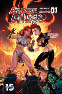 Dynamite January 2020 solicits: Red Sonja: Agent of Chaos #1