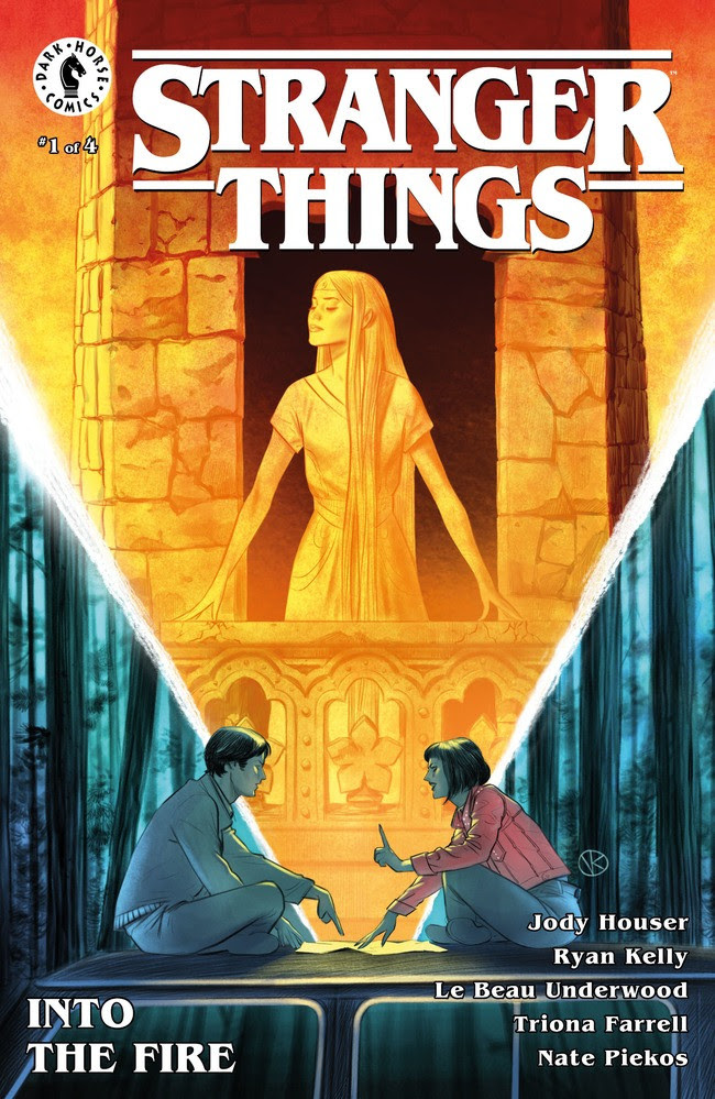 Stranger Things: Into The Fire #1 Cover A