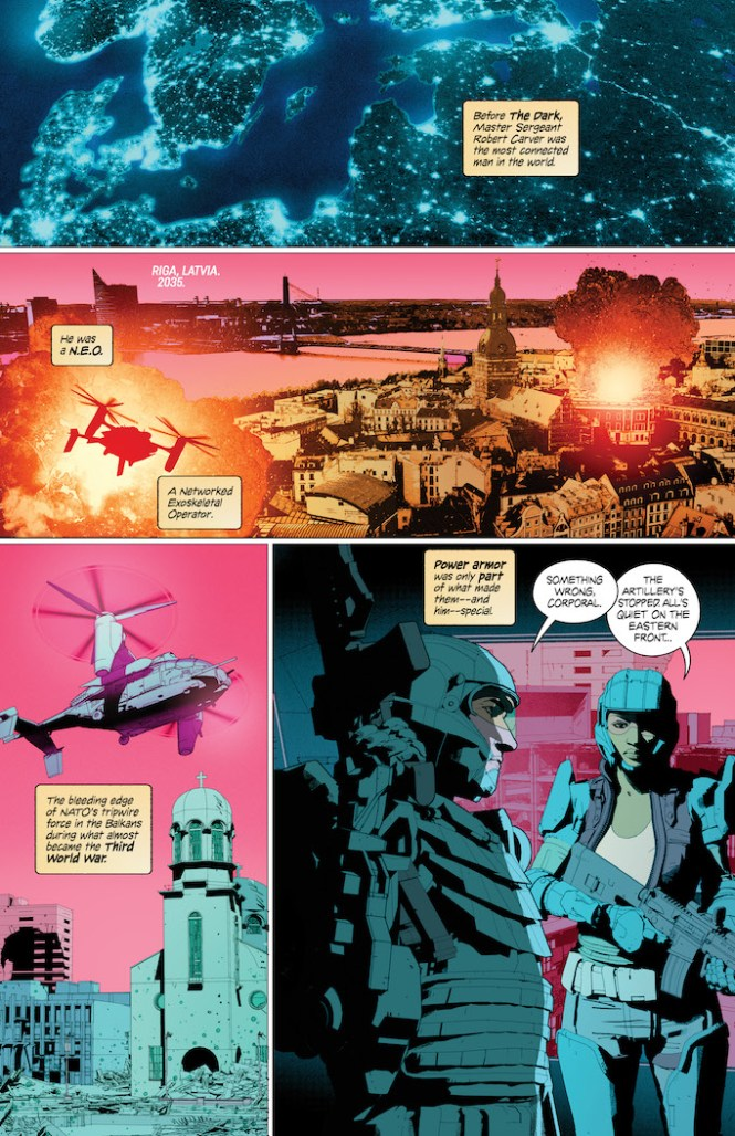 the dark comixology page