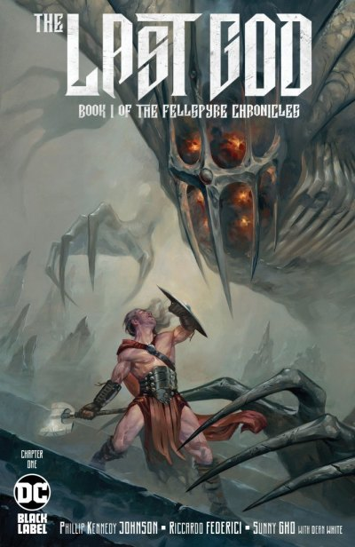 King Tyr fighting the titular last god in The Last God #1