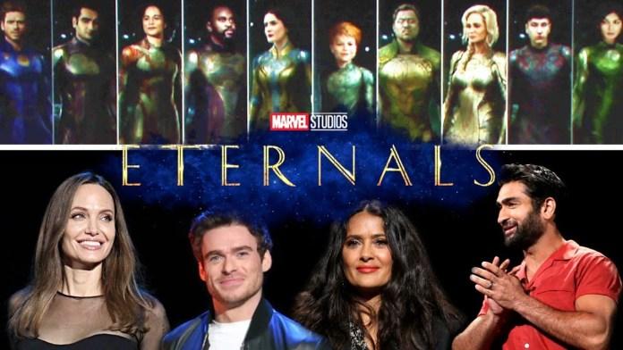 eternals marvel studios cast