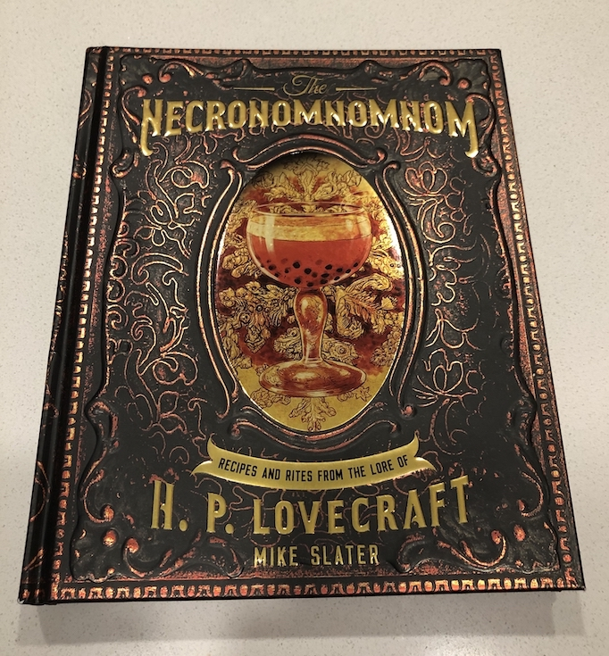 Lovecraft cookbook hardcover