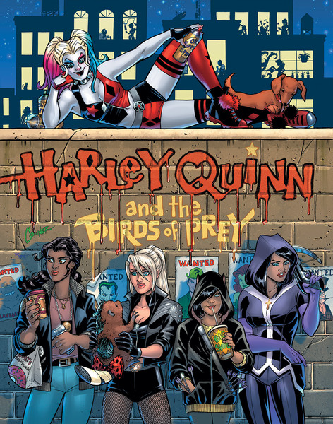 harley quinn black label