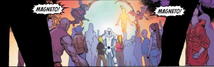 Magneto back on Krakoa
