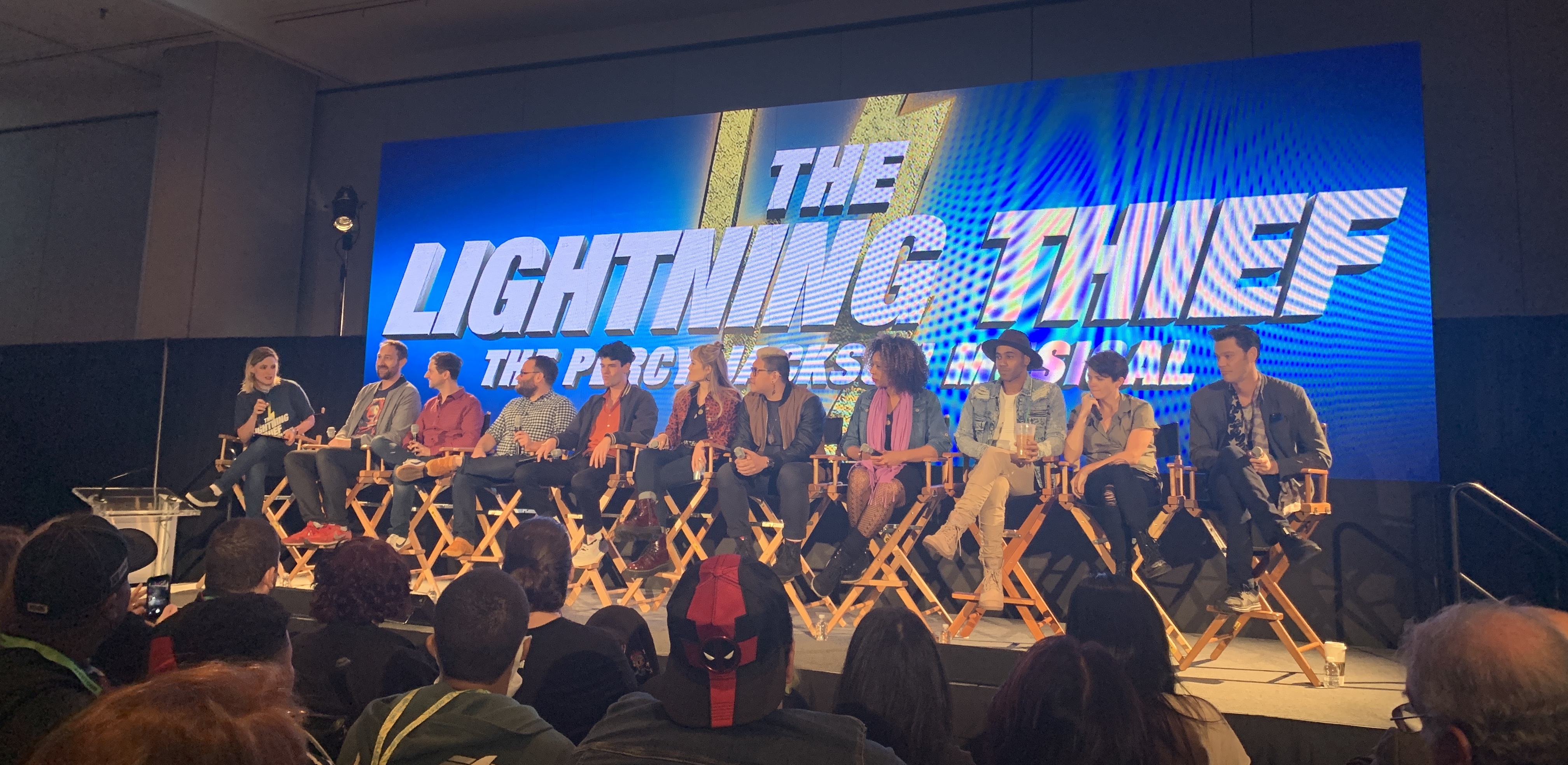 From Page to Stage: The Lightning Thief: The Percy Jackson Musical panel