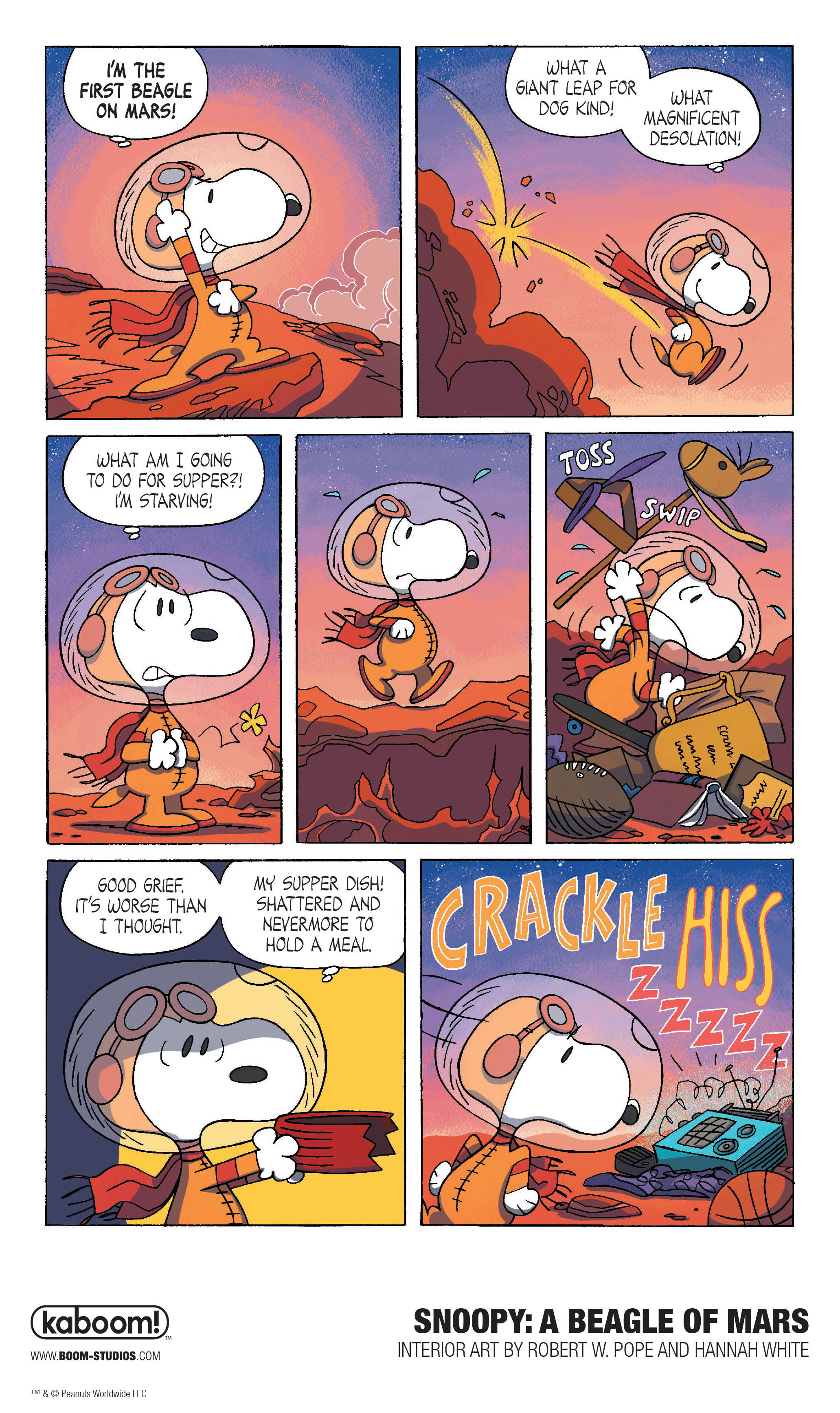 Snoopy: A Beagle of Mars
