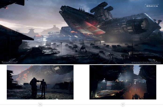 Art of Jedi Fallen Order review locations