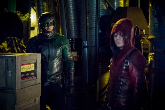 From ARROW S8E5; Photo: The CW.